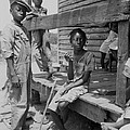 African American Farm Children by Everett
