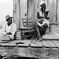 African American Sharecroppers, Titled by Everett