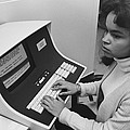 African-american Woman Computer by Everett