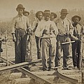 African American Work Team by Everett