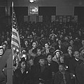 African Americans At A Tenants Meeting by Everett