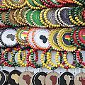 African Beaded Earrings by Neil Overy