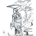 African Rural Woman by Emmanuel Baliyanga
