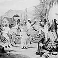 Afro-caribbean Slaves Dancing by Everett