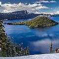 Afternoon Clearing At Crater Lake by Greg Nyquist