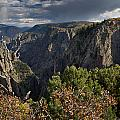 Afternoon Clouds Over Black Canyon Of The Gunnison by Greg Nyquist