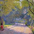 Afternoon In The Park by Hippolyte Petitjean