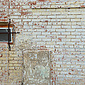 Aged Brick Wall With Character by Nikki Marie Smith
