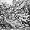 Agriculture: Spring, C1555 by Granger