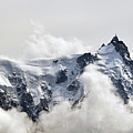 Aiguille Du Midi Out Of Clouds by Thomas Pollin