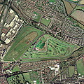 Aintree Horse Racing Track, Aerial Image by Getmapping Plc