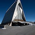 Air Force Accadamy Chapel by Dennis Hofelich