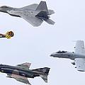 Air Force Heritage Flight Luke Afb March 19 2011 by Brian Lockett