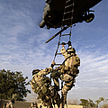 Air Force Pararescuemen Are Extracted by Stocktrek Images