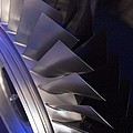Aircraft Engine Fan Blades. by Mark Williamson