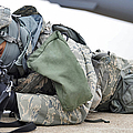 Airman Provides Security At Whiteman by Stocktrek Images