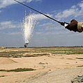 Airmen Conduct A Controlled Detonation by Stocktrek Images