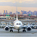 Airport Overlook The Big City by Mike McGlothlen