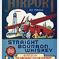 Airport Whiskey Label by Granger