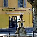 Aix En Provence Fountain by Carla Parris