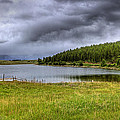 Alaki Lake Near Eureka by Lee Santa
