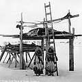 Alaska: Eskimo Storage by Granger