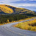Alaska Highway Near Beaver Creek by Yves Marcoux