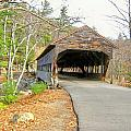 Albany Covered Bridge by Wayne Toutaint