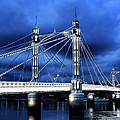 Albert Bridge London by Jasna Buncic
