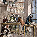Albrecht Von Haller In Lab by Granger