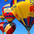 Albuquerque Balloon Festival by Fred J Lord