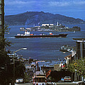 Alcatraz From San Fran Hilltop by Paul W Faust -  Impressions of Light