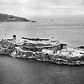 Alcatraz Island And Prison by Underwood Archives
