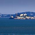 Alcatraz Island In San Francisco Bay by David Buffington