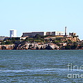 Alcatraz Island In San Francisco California . West Side . 7d14031 by Wingsdomain Art and Photography