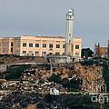 Alcatraz Island Lighthouse - San Francisco California  by Tap On Photo