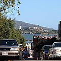 Alcatraz Island Through The Hyde Street Pier In San Francisco California . 7d13973 by Wingsdomain Art and Photography