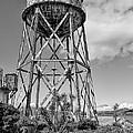 Alcatraz Penitentiary Water Tower by Daniel Hagerman