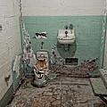 Alcatraz Vandalized Cell by Daniel Hagerman