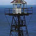 Alcatraz Watch Tower by Paul W Faust -  Impressions of Light
