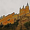 Alcazar De Segovia - Spain by Juergen Weiss