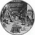 Alchemists Laboratory, 1595 by Science Source