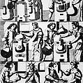 Alchemy Preparations, 17th Century by