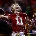Alex Smith - 49ers Quarterback by Paul Ward