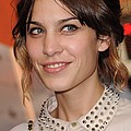 Alexa Chung At Arrivals For Inglourious by Everett