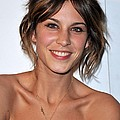 Alexa Chung At Arrivals For The Whitney by Everett