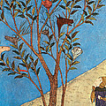 Alexander The Great At The Oracular Tree by Photo Researchers