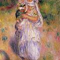 Algerian Woman And Child by Pierre Auguste Renoir
