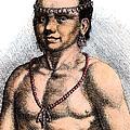 Algonquian Man, 1645 by Granger