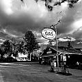 Algonquin Gas Station by Cale Best